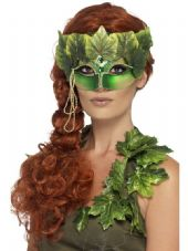 Green Forest Nymph Eye Mask